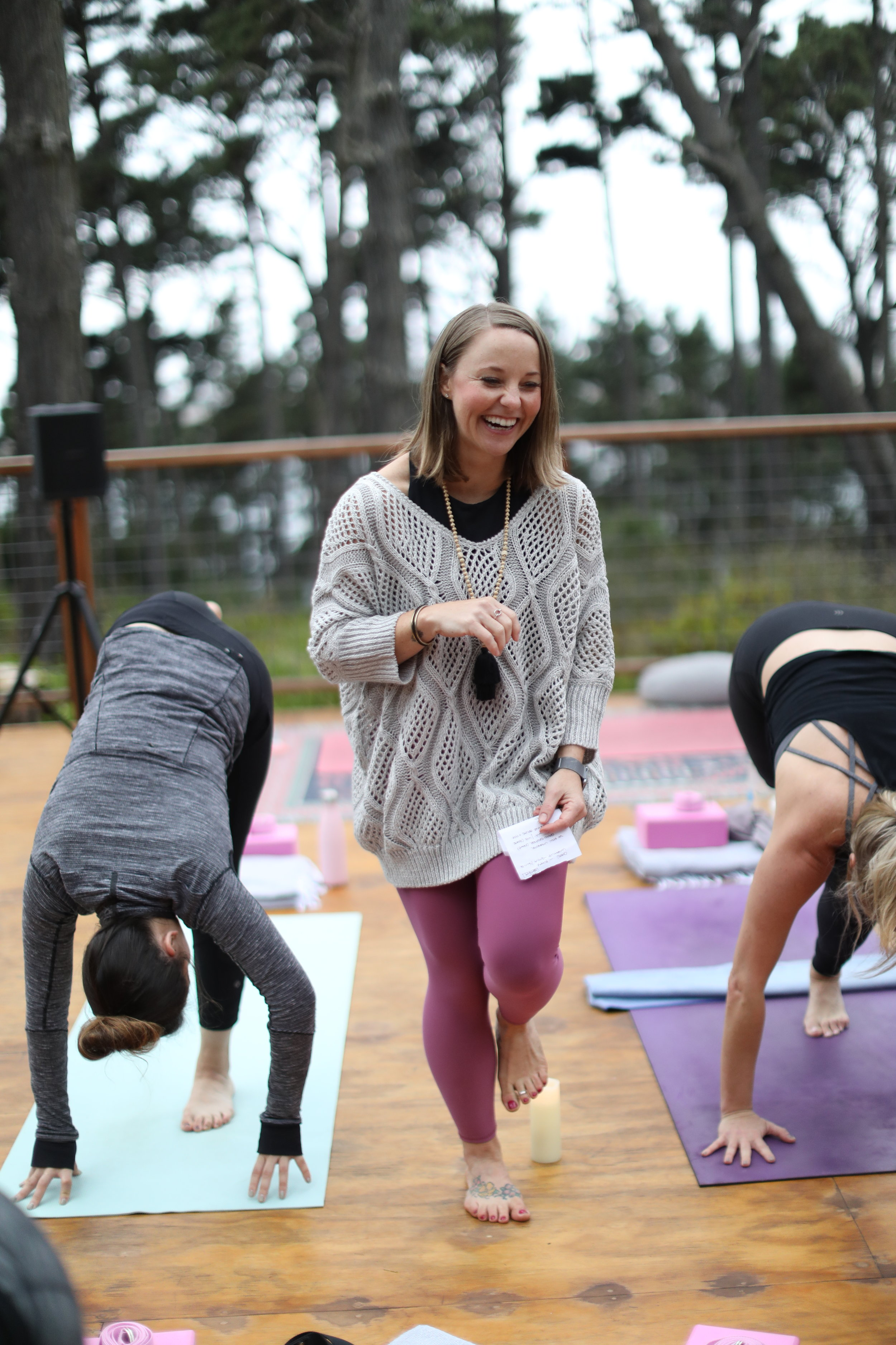Yoga by Paige Glamping Retreat in Mendocino