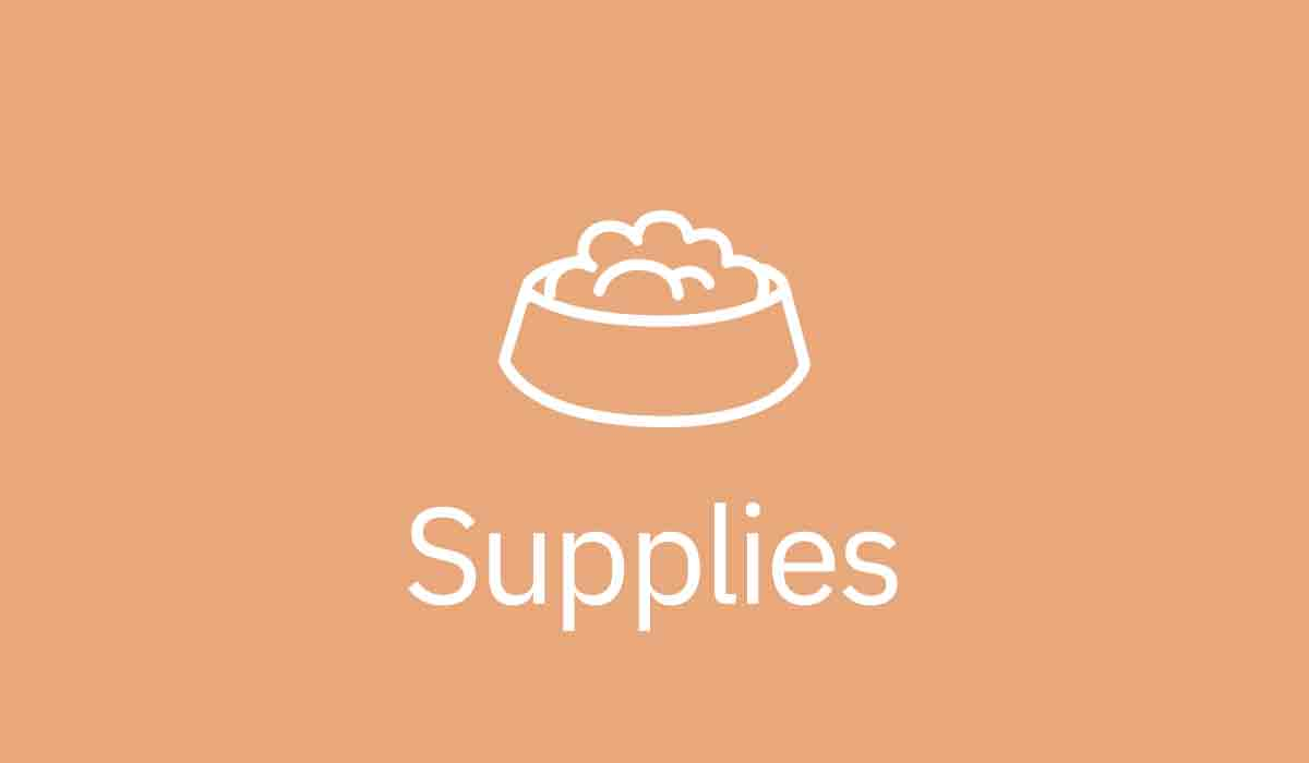 Supplies at Wahiawa Pet Hospital