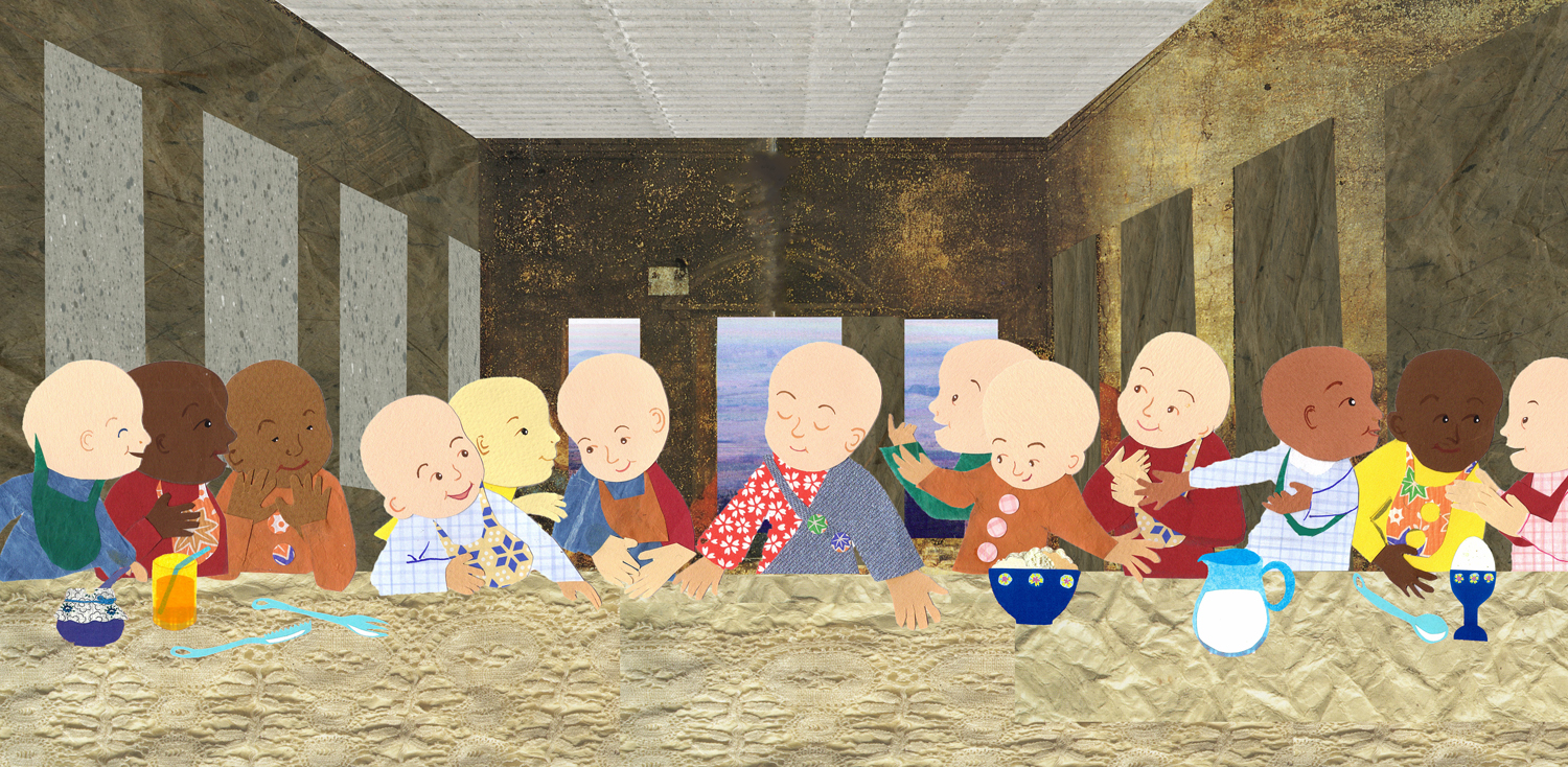 Babies at the Last Supper.jpg