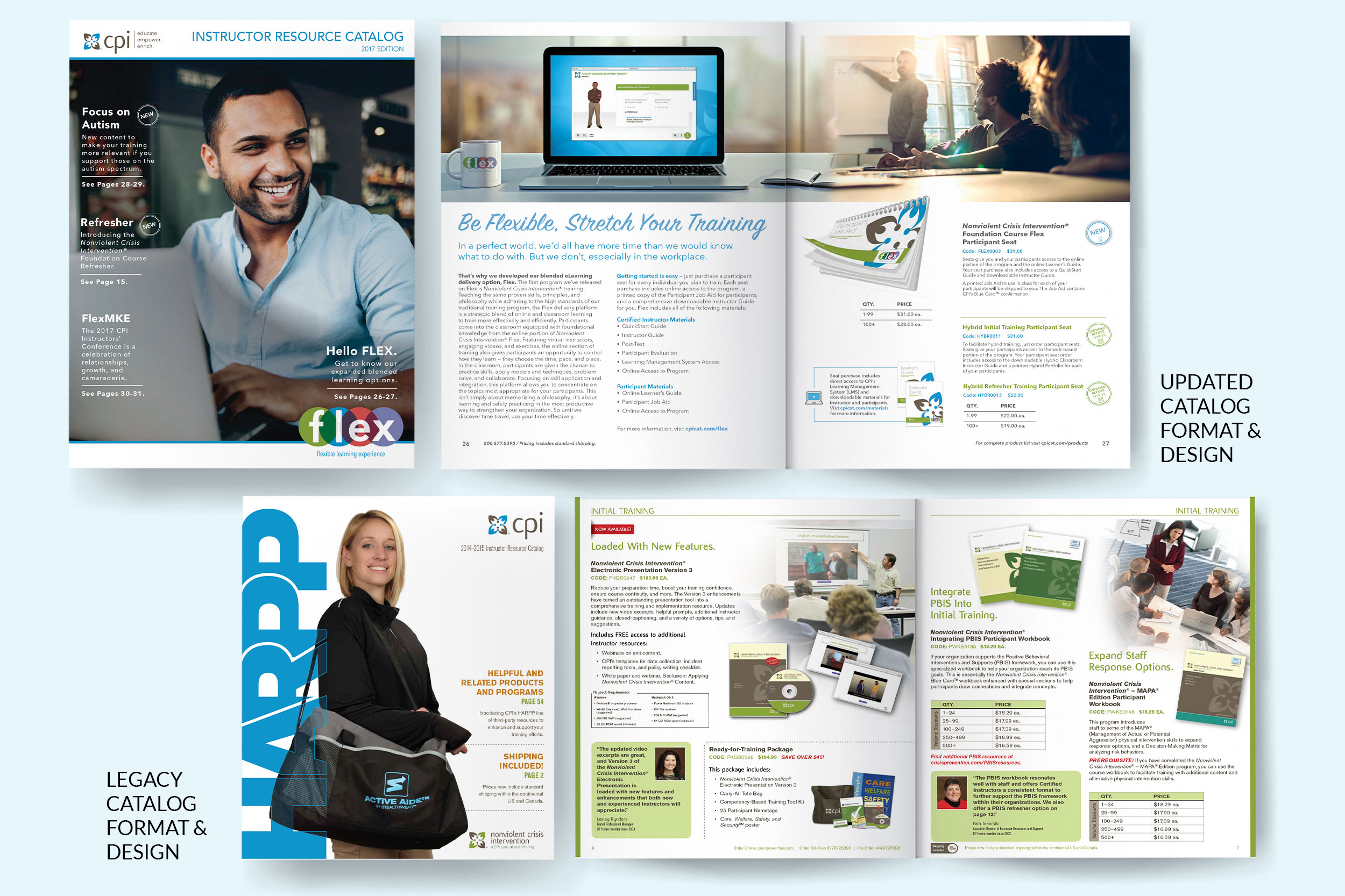 CPI Product Catalog Redesign -