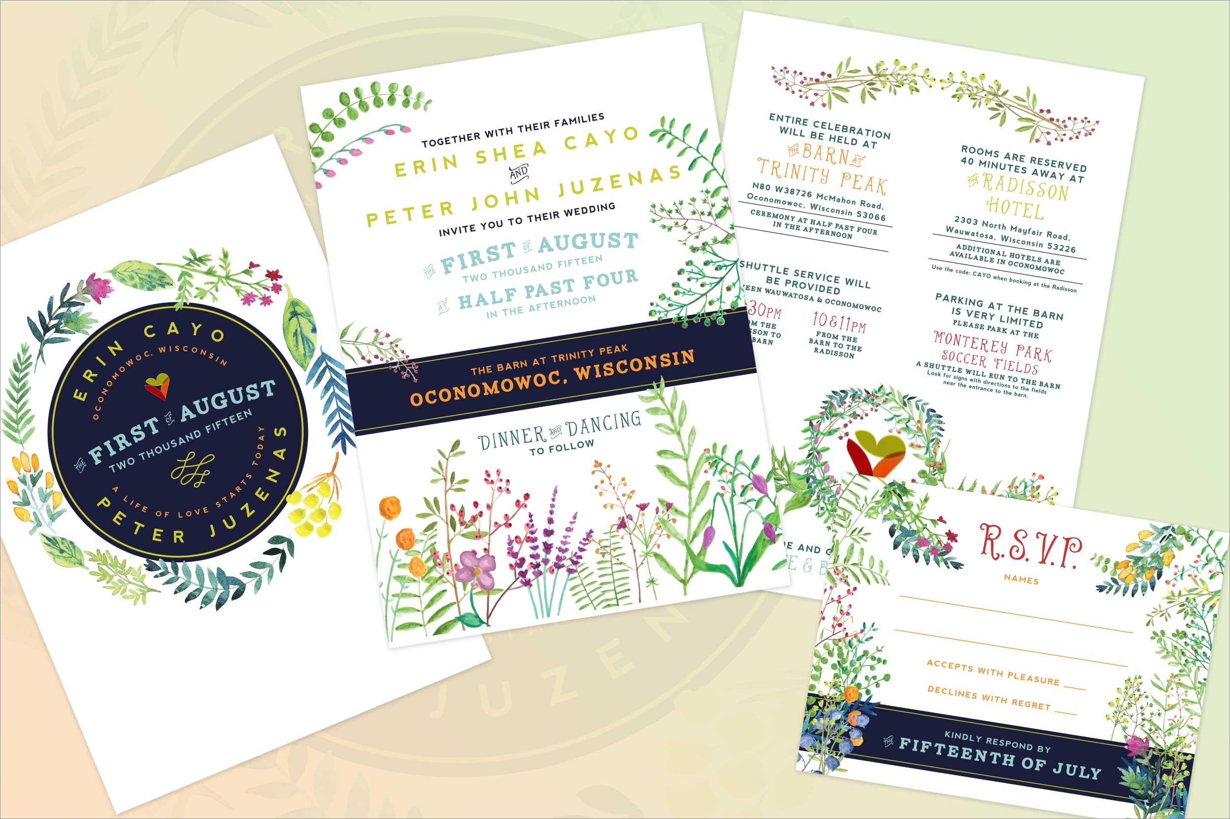 Wedding Invitation (2015)