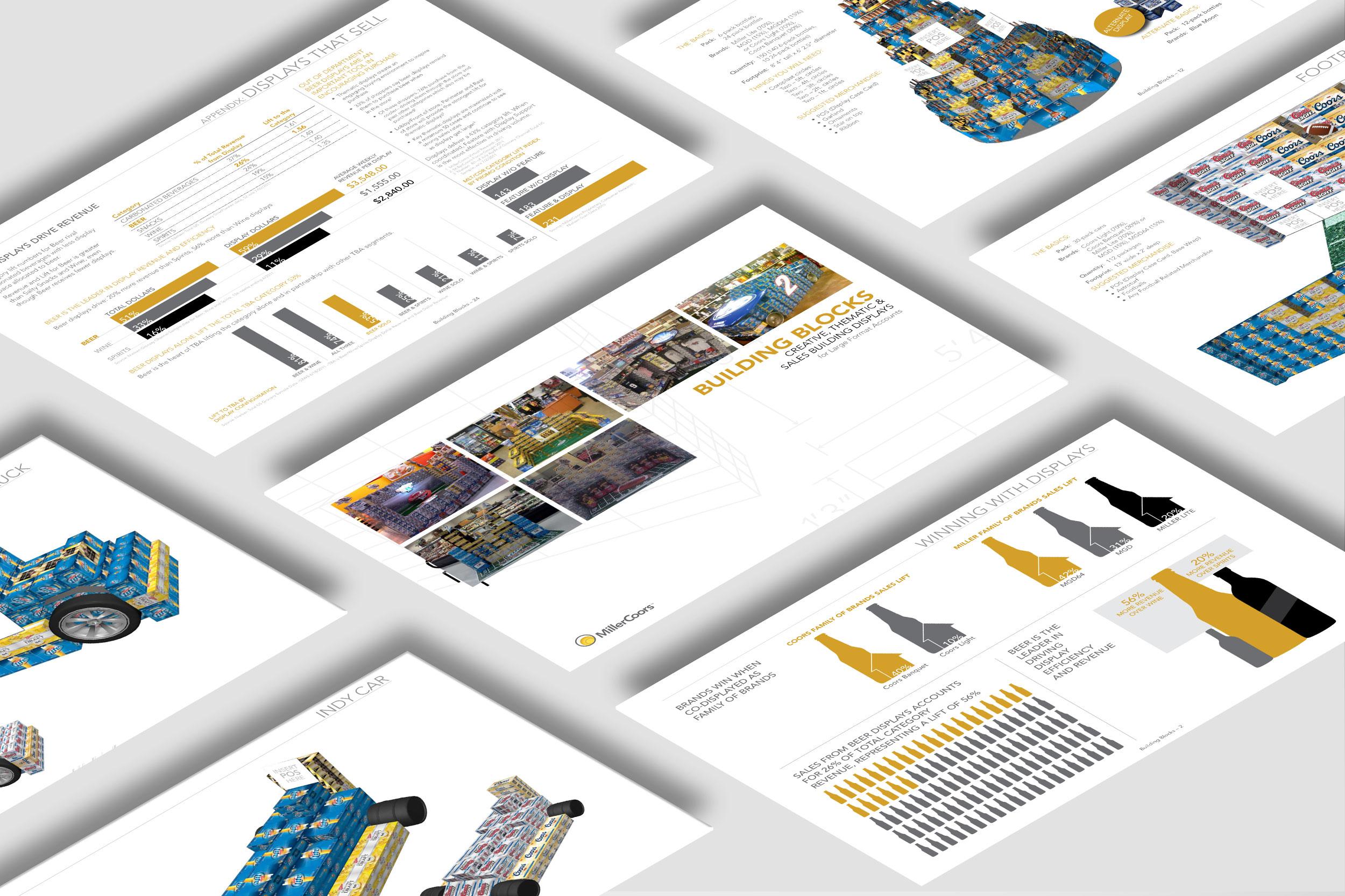 MillerCoors Displays Matter Brochure (2010)
