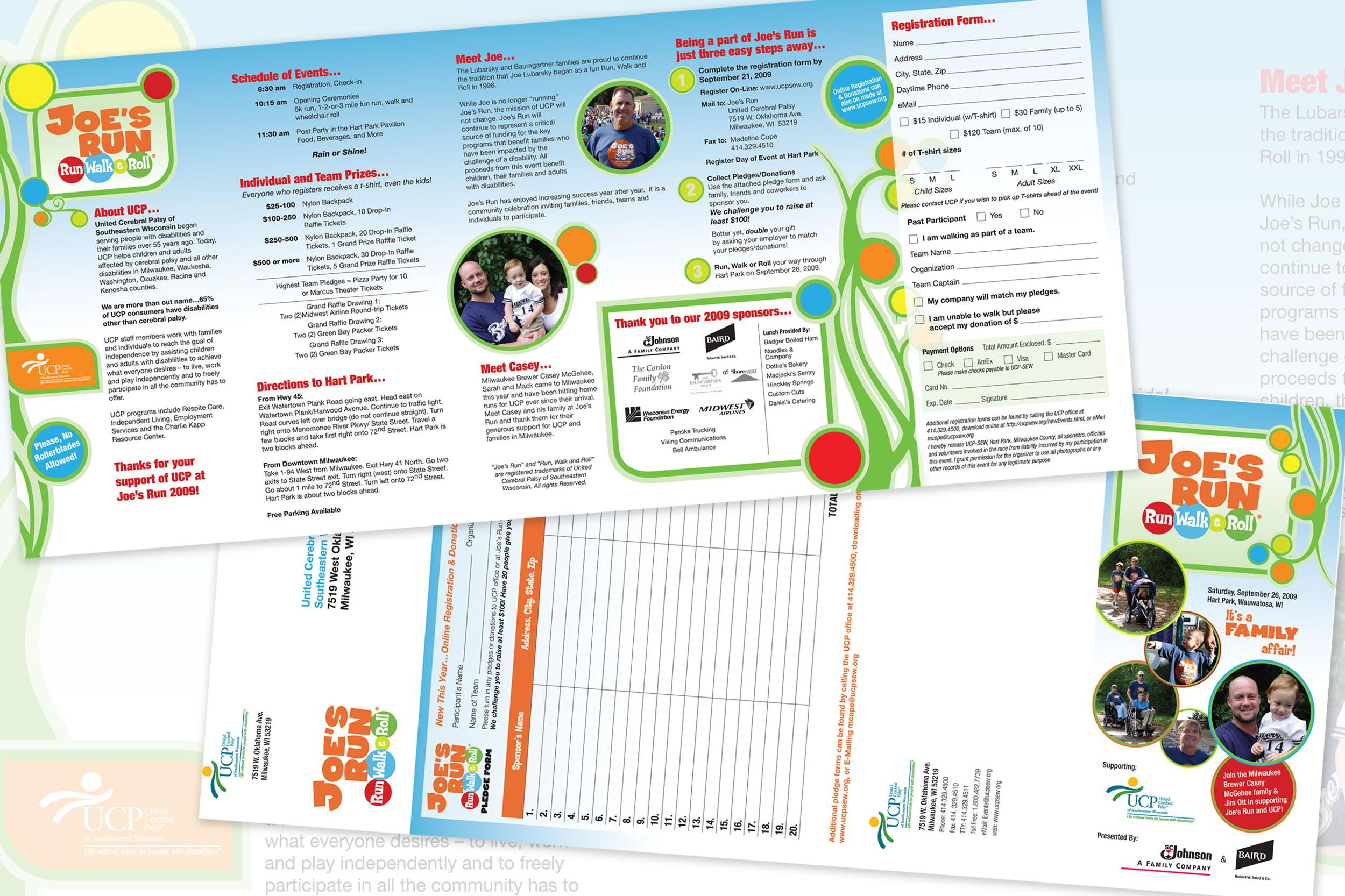 UCP Joe's Run Brochure & Branding (2009)