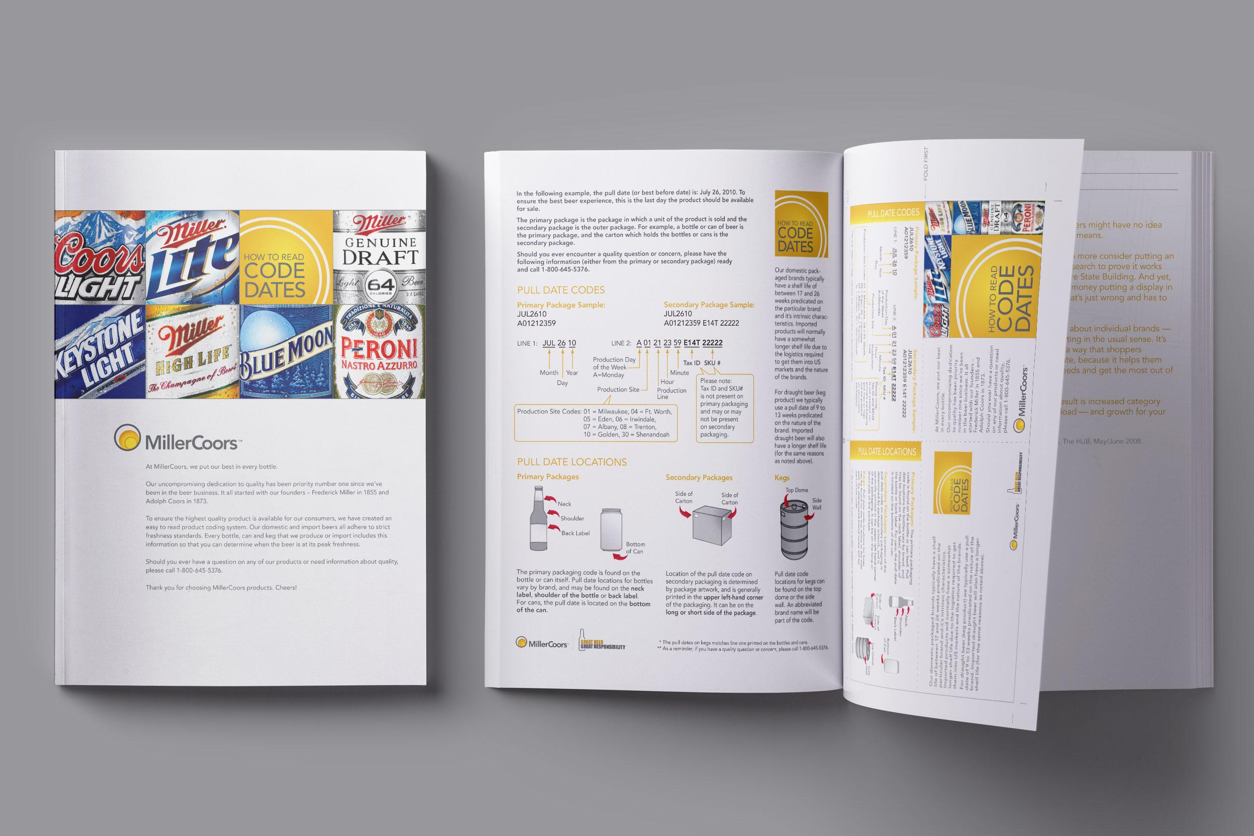 MillerCoors Code Dates Booklet (2009)