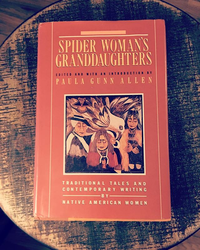"""Finished ❤️ I recommend this book to pretty much every woman I know— regardless of your tastes. It is so important to hear and appreciate the stories that belong to Native American women. This anthology of stories made me cry multiple times. They address the destruction of communities and the plagues that come with European colonization, but they also share tales of how specially native women resist every day or """"make do"""" (as one story called it.) These are tales of warrior women and how important women are to the health and strength of communities. The writing itself in these stories is reason enough to pick up this book. But I think it goes beyond that too."""