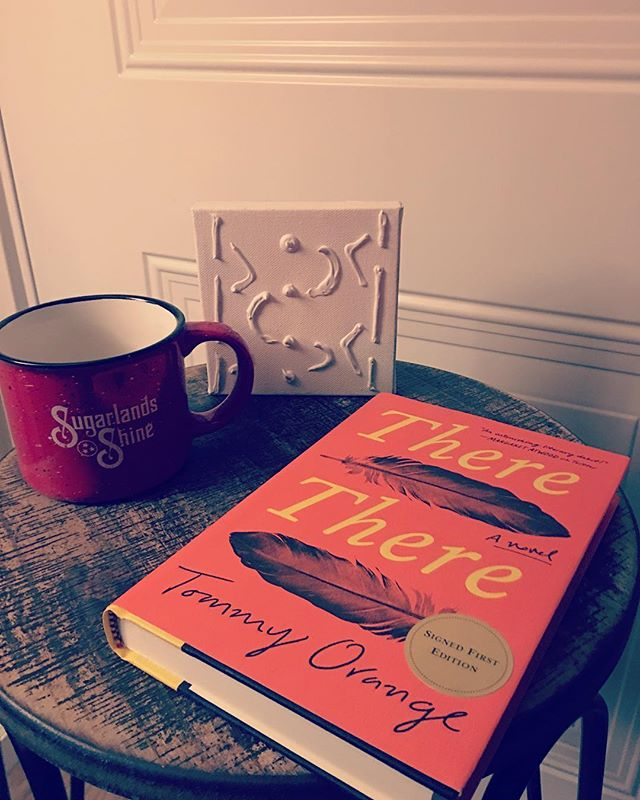 """Today, I'm finally starting """"There There"""" by Tommy Orange! 📚📚 This has been a book on my TBR list for a while now. AND I'm excited to say that I'm going to include this book in one of my first blog posts on my upcoming website! 📚 First chapters are incredibly daunting for writers to tackle. So I'm going to compile a few case studies on how 2018's favorites across various genres tackled their own first chapters. """"There There"""" will be one of those texts I study. 📚 The blog will be up by the end of January when I debut the website—Stay tuned!! 📚📚📚"""