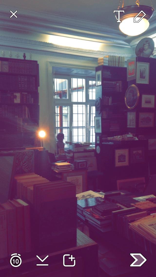 Hidden bookstore in Krakow, Poland.