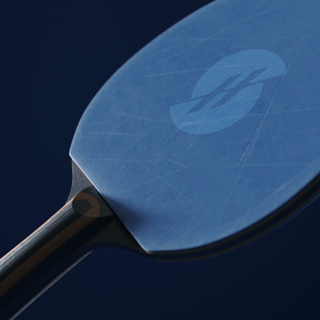 Ping Pong Paddle Free 3d model