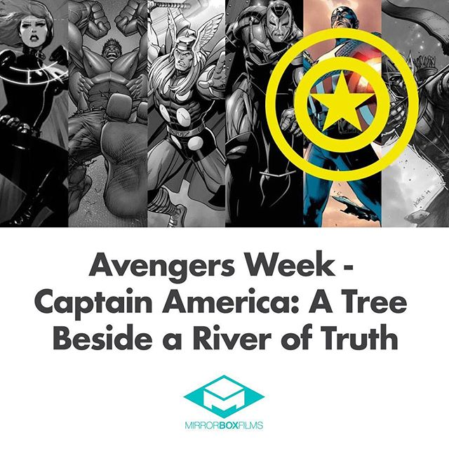 Welcome to Avengers Week here at Mirror Box! Each day, we'll feature a piece from our incredible writers that highlights each original member of the iconic team and discuss the cultural impact and relevance these characters have on the big screen! As a fitting end to our series, @jkobbster gives us his take on the first avenger himself, Captain America! LINK IN BIO!⠀ .⠀ .⠀ .⠀ .⠀ #avengers #captainamerican #steverogers #endgame #movieessay #superhero #genrefilm #productioncompany #indie #scifi #fantasy #film #geeklife #filmmakers #geeky #writing #writers #indiefilm #geeks #nerd #comics #geekgirl #comiccon #sciencefiction #story #screenwriting #movie #artist #genrefilm #mirrorboxfilms