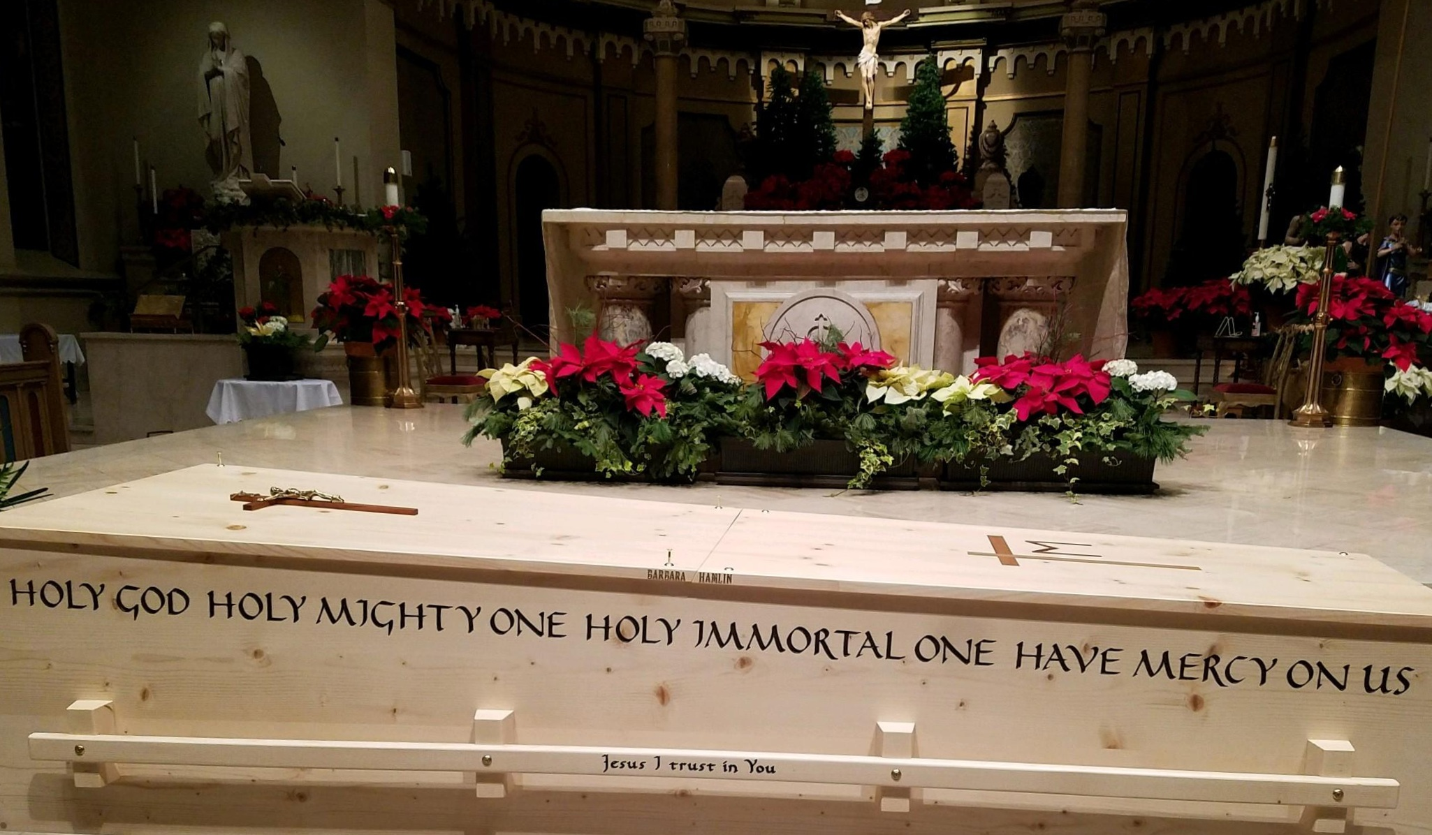 "- ""Thank you for your kindness and promptness in working with me to order this casket for my mother, especially over the holiday season. The casket for my mother was beautiful.""Susan Nygard - Boise, ID"