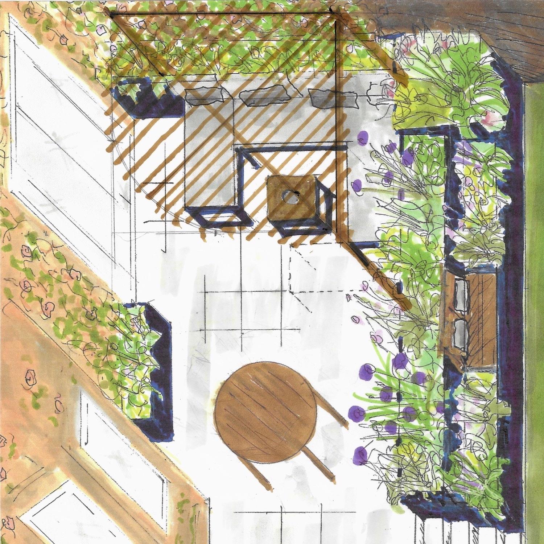 Axonometric-patio-pots-and-pateriors-design-garden-plants-pots-edinburgh-raised-layered-bedding.jpg