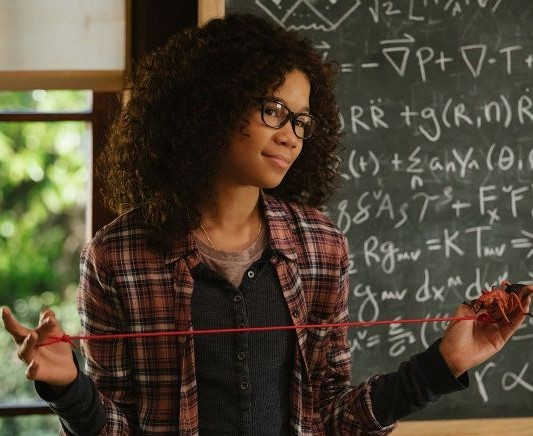 Storm Reid as Meg Murry in the DuVernay adaptation of  A Wrinkle in Time .