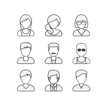 9 person group icon vector.JPG