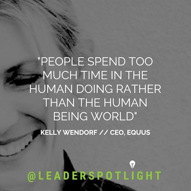The very first epsiode of @leaderspotlight is now available to listen on @spotify and @soundcloud 🎧✨ - Episode 1 features @kellywendorf of EQUUS - an innovative self-mastery and leadership development approach for individuals and organizations. - Kelly discusses with host @annettewklososky how she discovered the power horses have to help us access wisdom in order to solve challenges differently, and live more meaningful lives. - Listen now via link in bio☝🏽