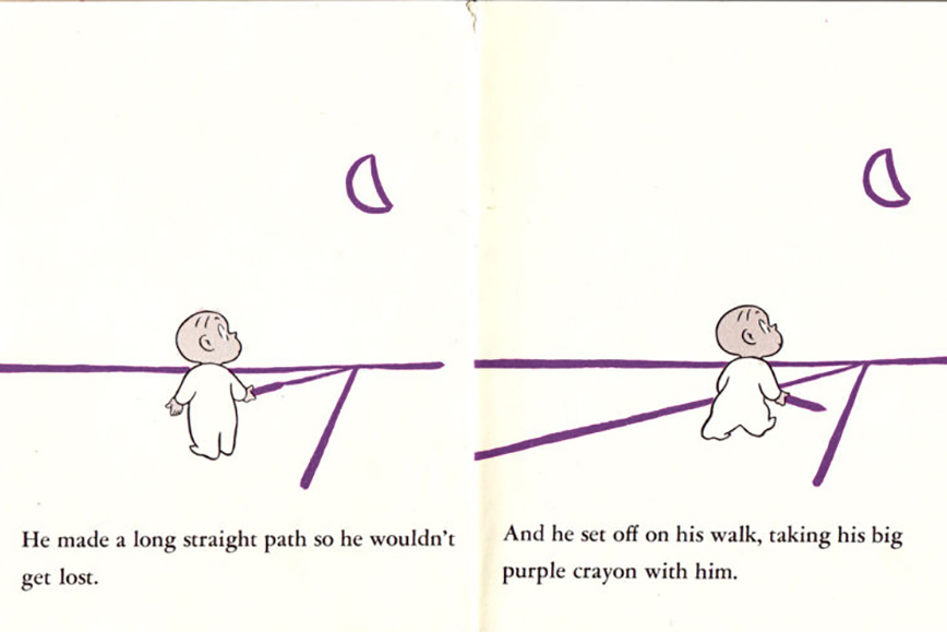 "The Infinite Knowledge of Harold & the Purple Crayon - When Rick was a child, he mysteriously lost his hearing for a year. During that year of silence, it was this illustrated book that gave him hope. In the book, Harold, confined to his room, decides to draw his own adventure using his purple crayon. He wants to go for a walk in the moonlight, but there is no moon, so he draws one. He has nowhere to walk, so he draws a path… and so on.Harold discovers that he can be the author of his own life, the central character in his own story. In a world often filled with ""victims,"" how do we find our own crayon?Good For:• Kids• Adults"