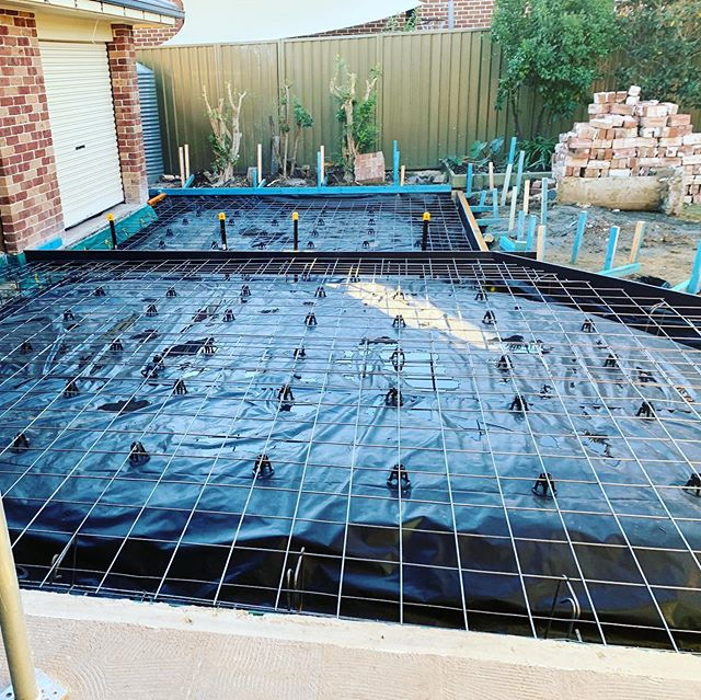 The Giovenco Projects team is steaming away on the Elderslie project. Demo done and extension slab ready to pour......