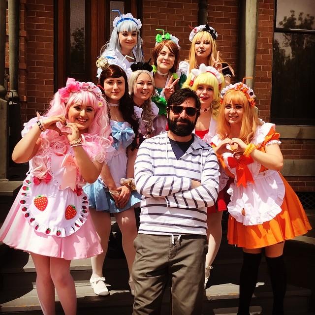 Me and the girls. . #phoenix #maids #heritagesquare #pizzeriabianco #azroadtrip