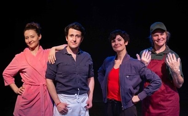 After seeing EARTH TO KAREN at the Hollywood Fringe Festival starring these upstanding individuals, you'll never look at NASA, baloney, or the Utah Jazz the same way again.  Seven performances, starting with our preview Fri. 6/7.  Get your tickets here: http://hff19.org/6031 . . #hff19 #lathtr #broadwater #blackbox #musical #newmusical #musicalcomedy  #astronaut #diaper #infamy #stocktontomalone #yolo #ineversayyolo #imsayingitironically #seetheshow