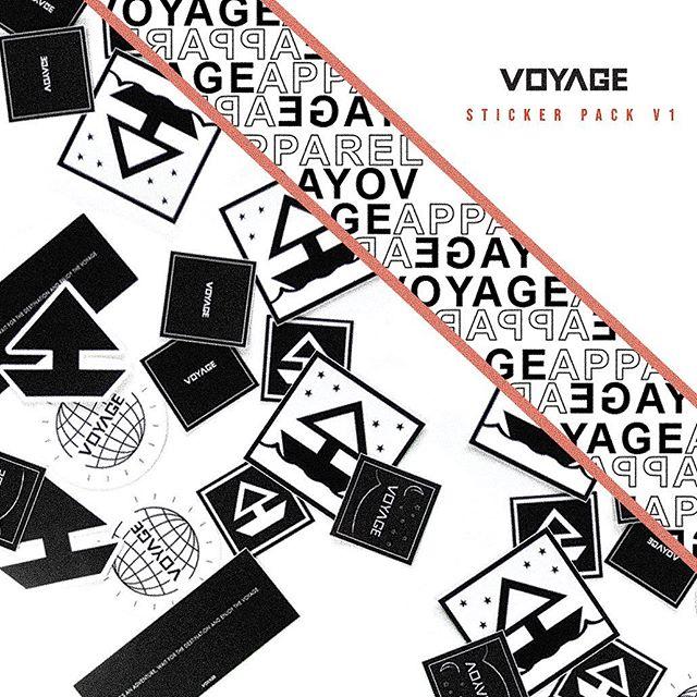 Sticker pack - V1 available online