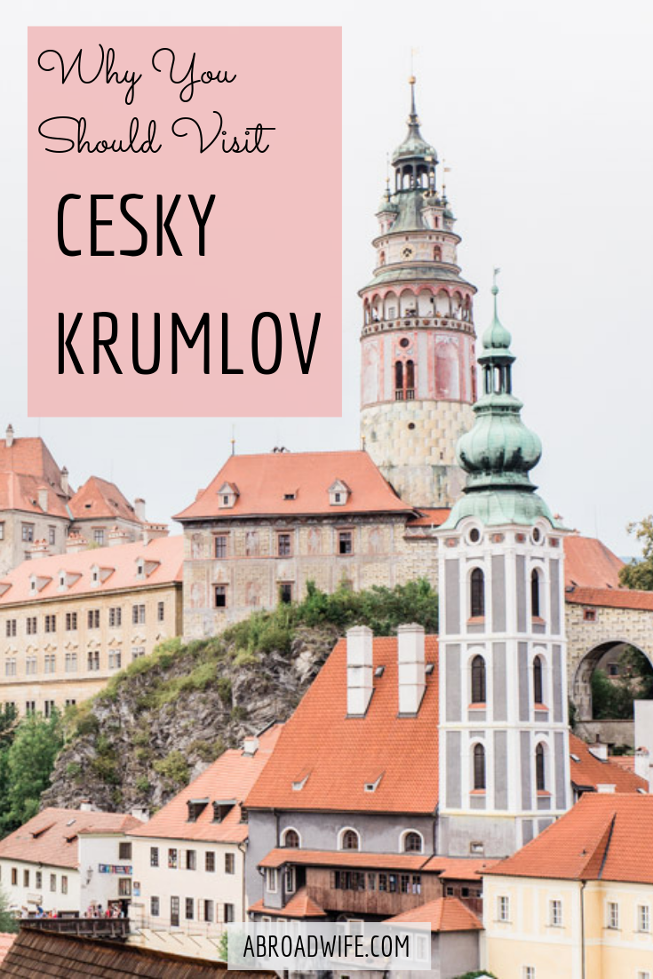 Why You Should Visit.pngWhy you should go from Prague to Cesky Krumlov. Make Cesky Krumlov more than a day trip from Prague.  What to do in Cesky Krumlov, Cesky Krumlov hotels, and how to get to Cesky Krumlov. #ceskykrumlov #czechia #czechrepublic #praguedaytrips