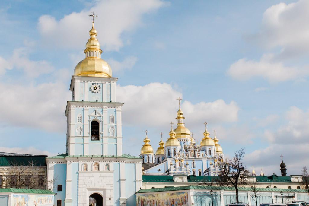 St. Michael's Monastery in Kiev, Ukraine.