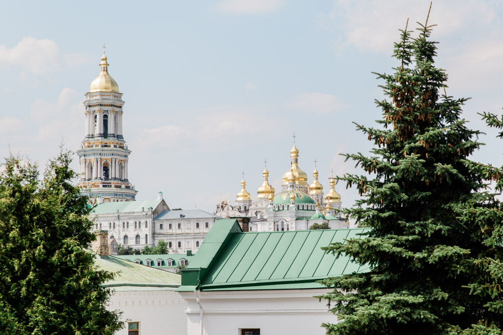 The Lavra church complex, a UNESCO world heritage site in Kiev.