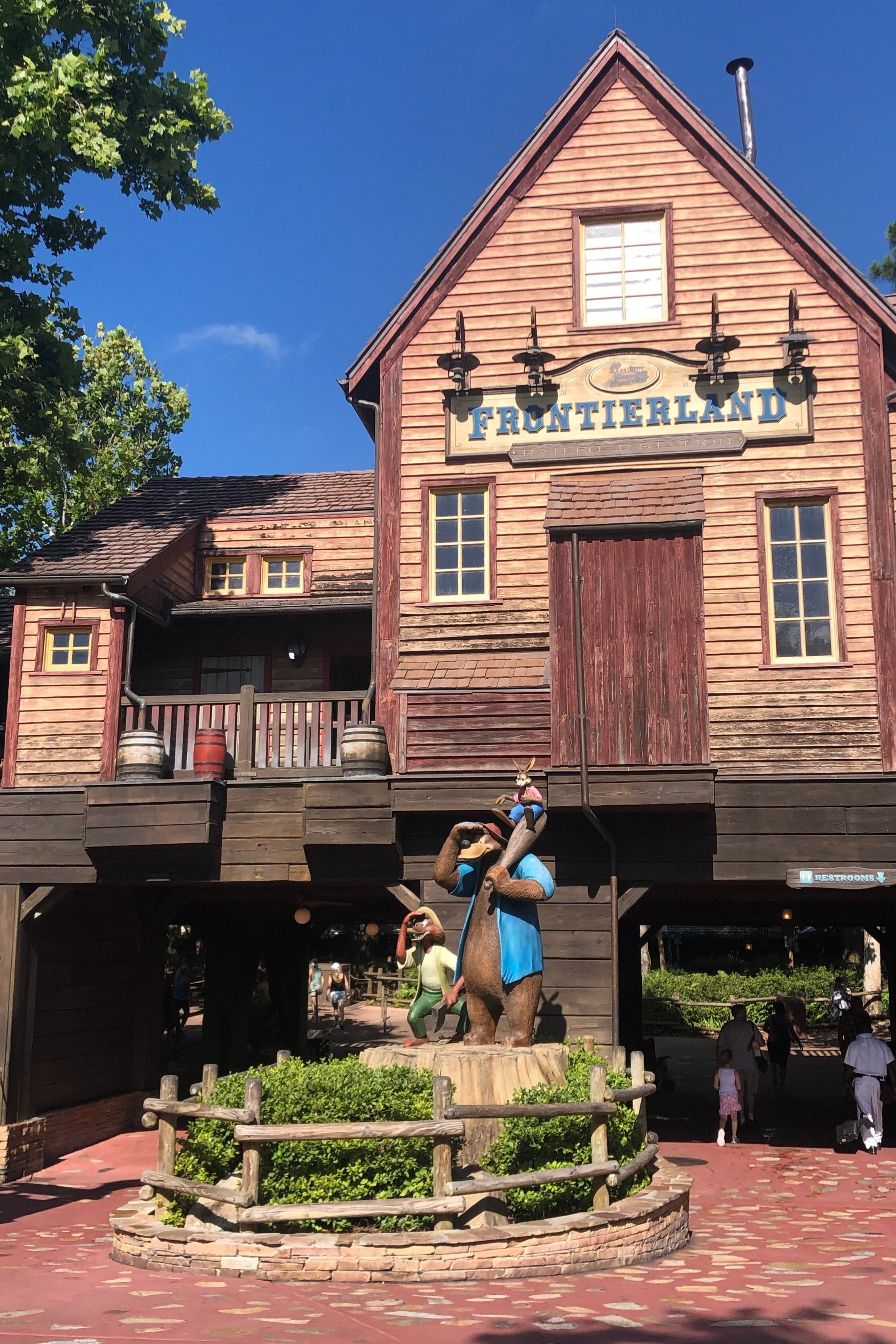 Frontierland at Magic Kingdom Disney World!