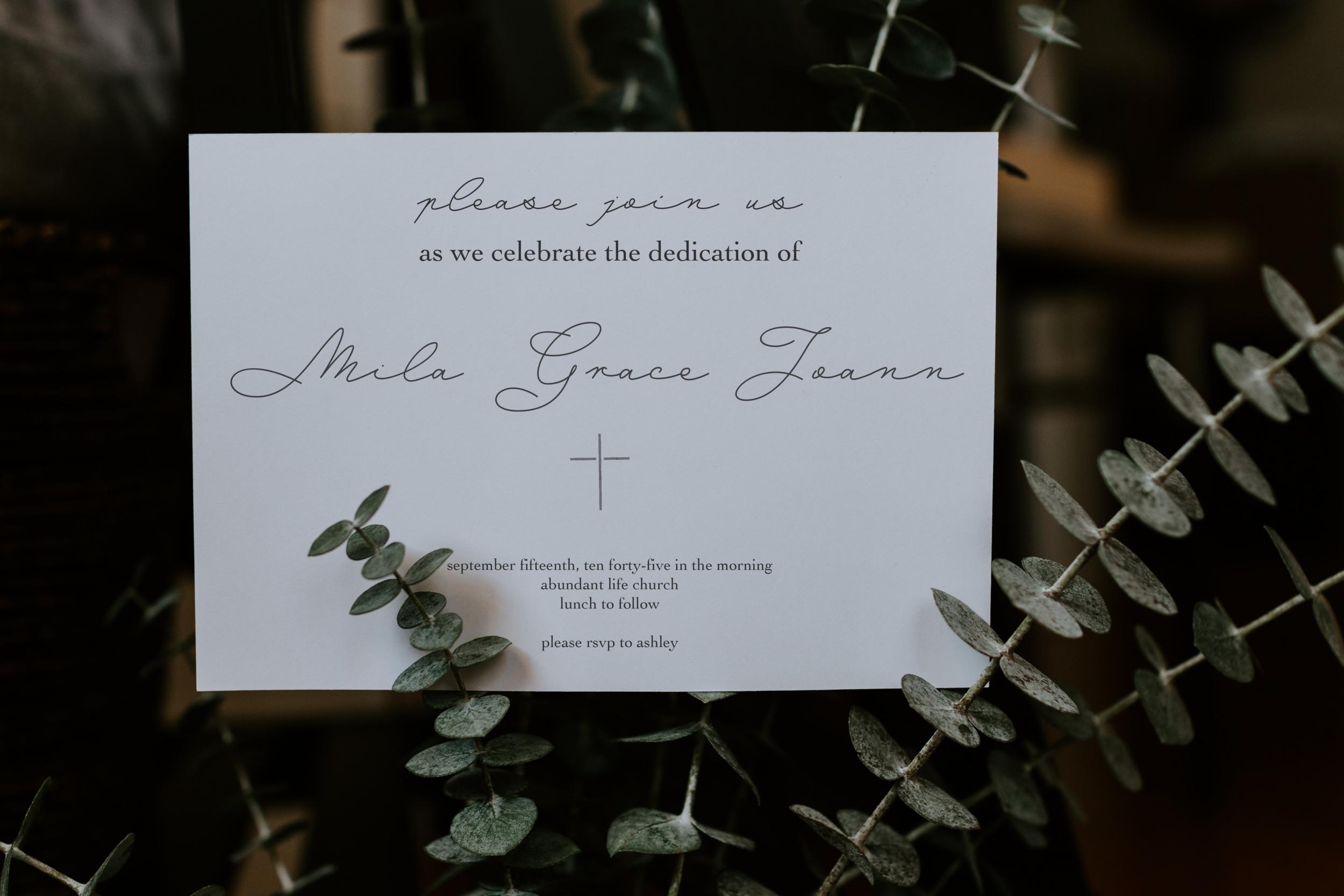 Invitation Design; Event Brand Strategy, 2019