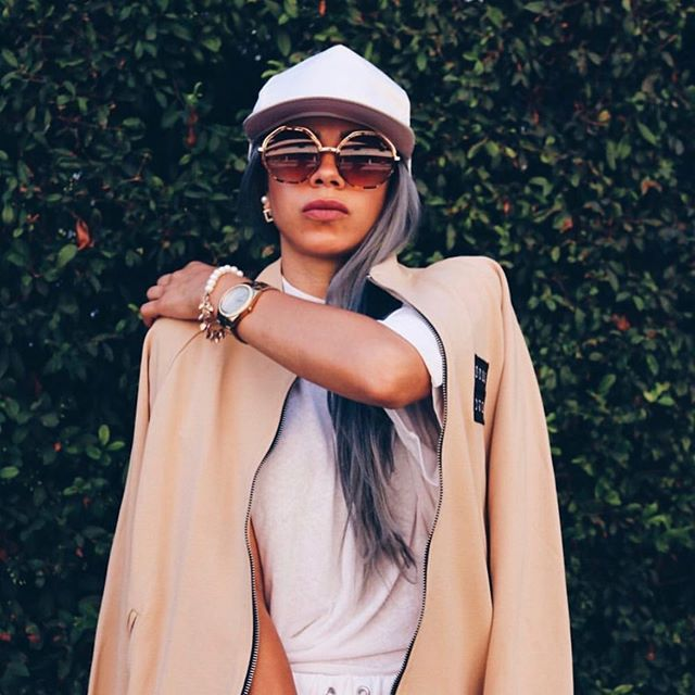 Our gal @vali in the FULL fit! Being bad, looking good 😈.