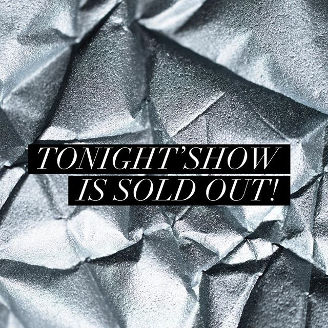 Closing #weekend starts tonight with another #SOLDOUT show at the #ParadiseFactory in #NYC! Keep up with all things #LuckyChick on our Instagram @theluckychick and online at luckychick.nyc 🔗 in Bio! ✨✨✨