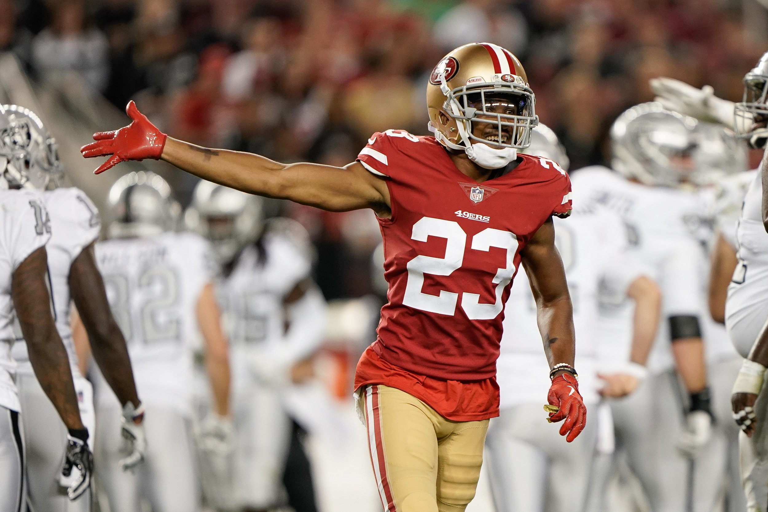 AHKELLO WITHERSPOON  CORNERBACK COLORADO 2017 DRAFT 3RD RD PICK, 66TH OVERALL SAN FRANCISCO 49ERS