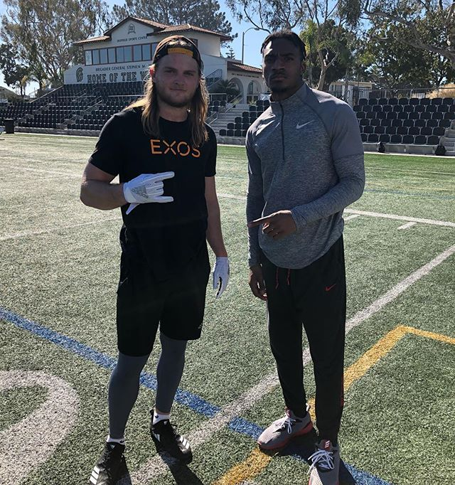 N E W 🌊  Excited to have the opportunity to add to your journey @deweywingard @getblessed TRUST THE PROCESS and let's keep CRAFTIN❕ @exossports  #PathToTheDraft #NFLDraft #DefensiveBackFactory #ComingSoon