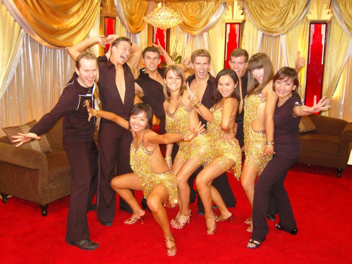Purdue Dance Team on Dancing with the Stars