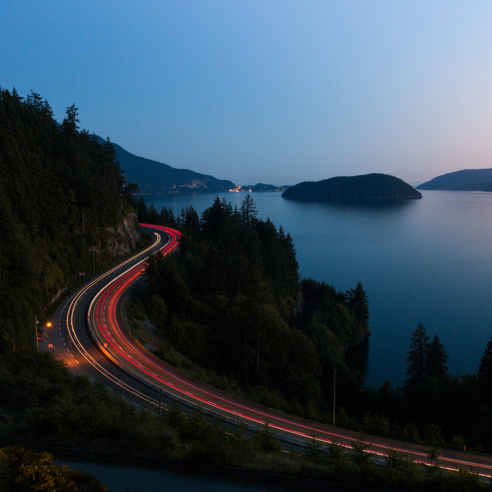 Sea to Sky Corridor:North Vancouver to Lillooet -