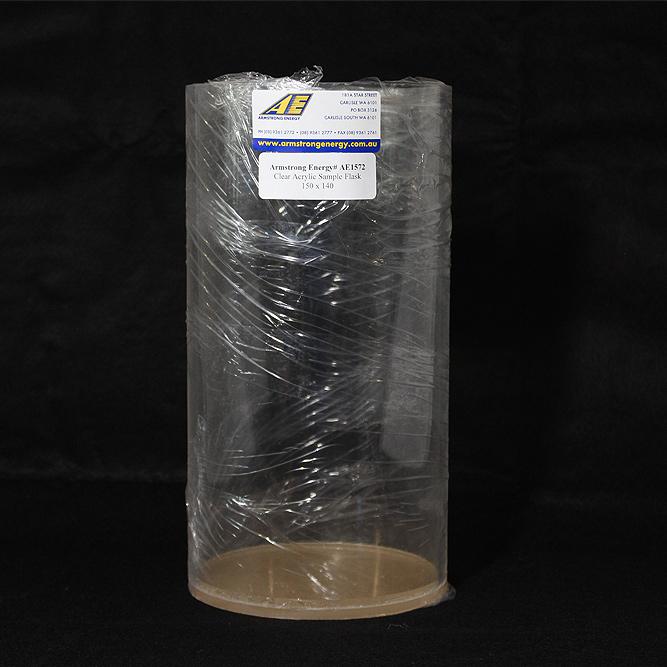 Acrylic Sample Flask