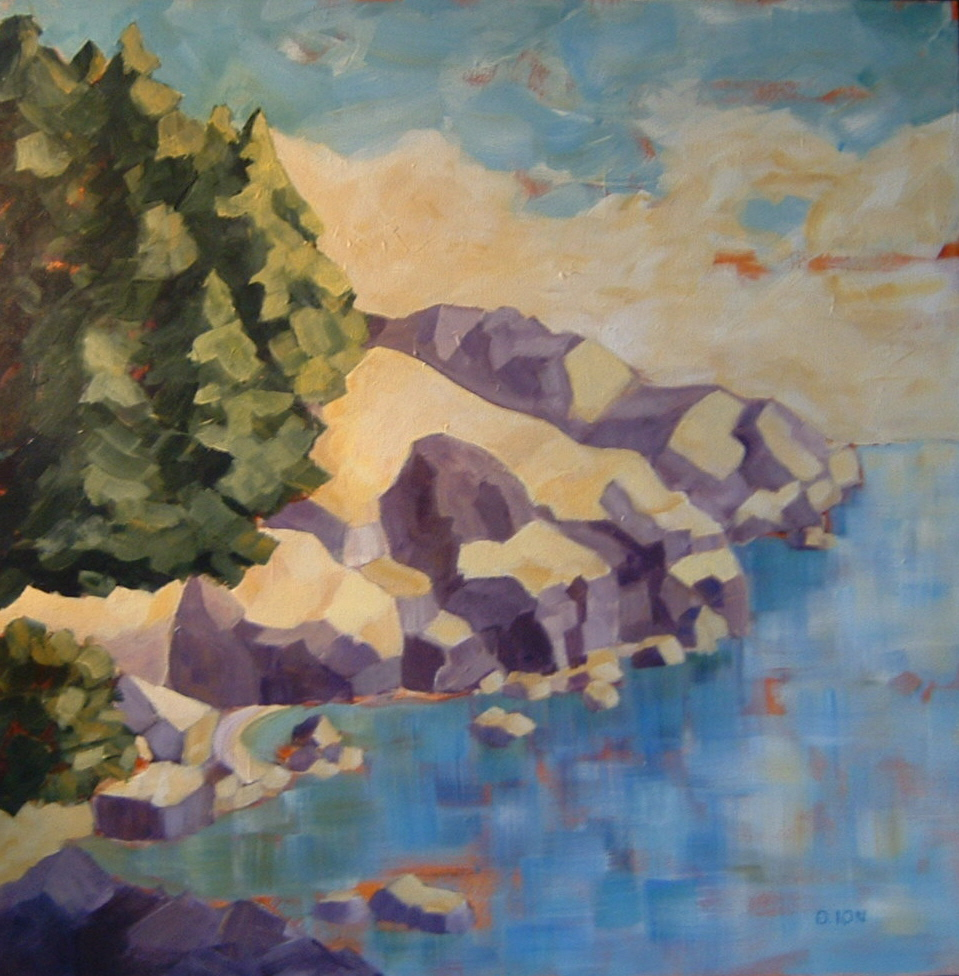 East Sooke Park Summer 30x30 in.