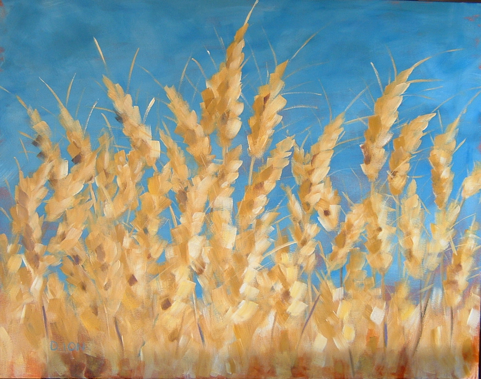 Summer Wheat 22x28 in.