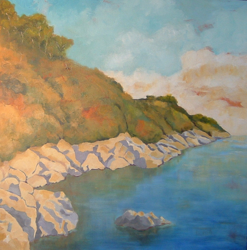 Cattle Point 30x30 in.