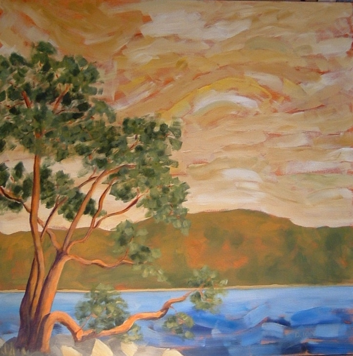 The Arbutus 30x30 in.