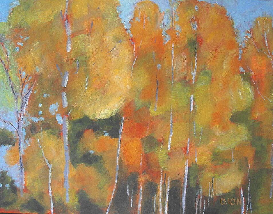 Birches 14x18