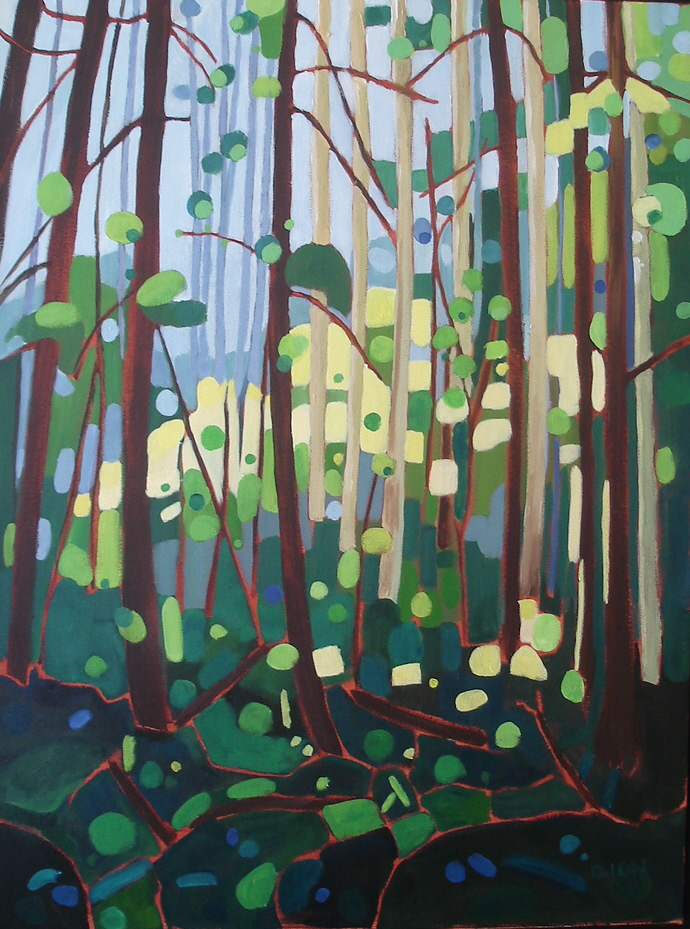 Forest  Prism 18x24 in.