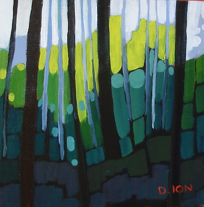 Forest Series #2  8x8 in.