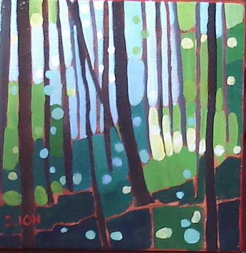 Forest Series #3 8x8 in.