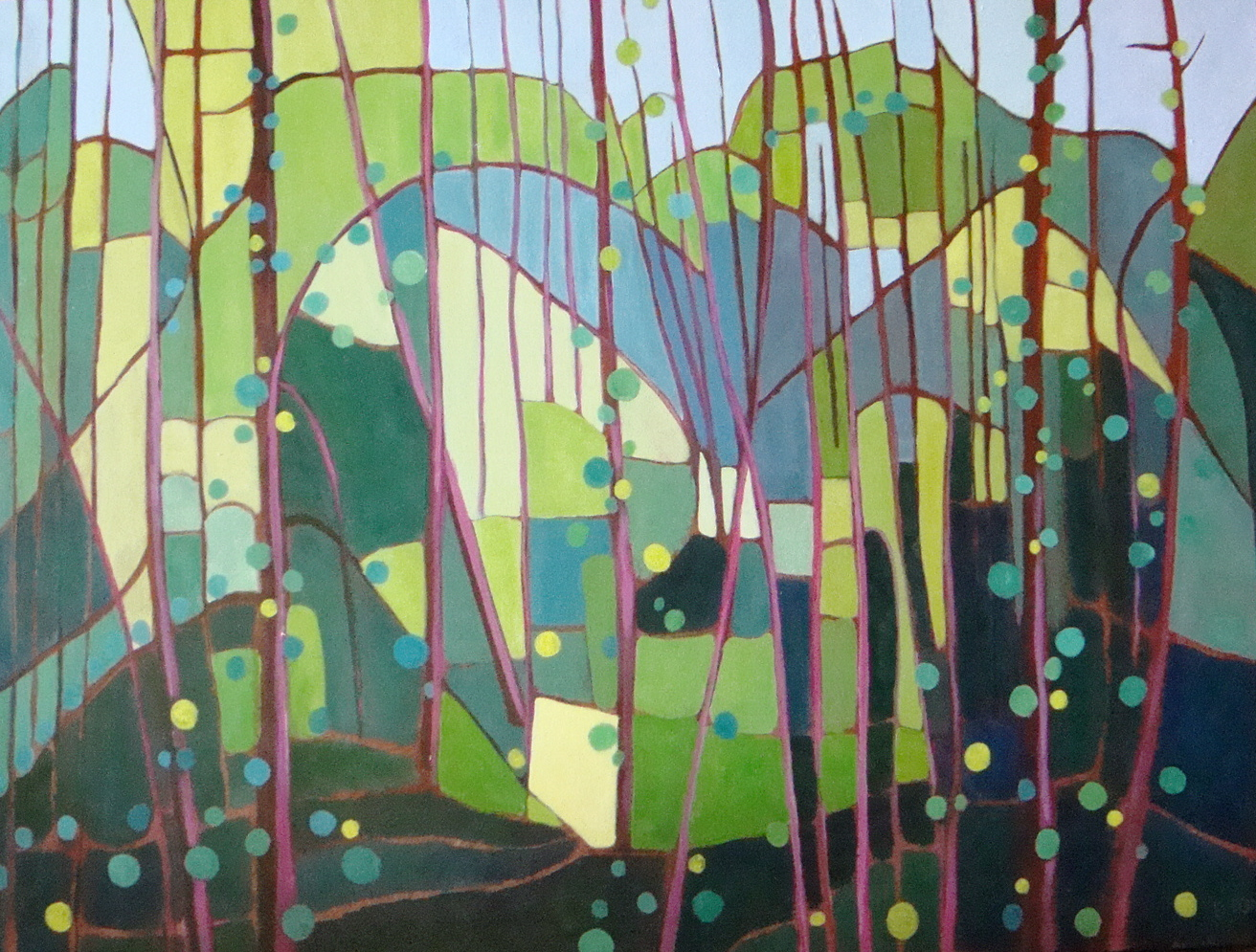 Forest Renewal 30x40 in.