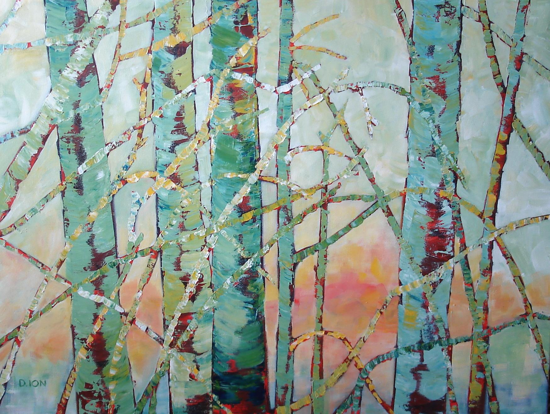 Tree Tapestry  30x40 in.