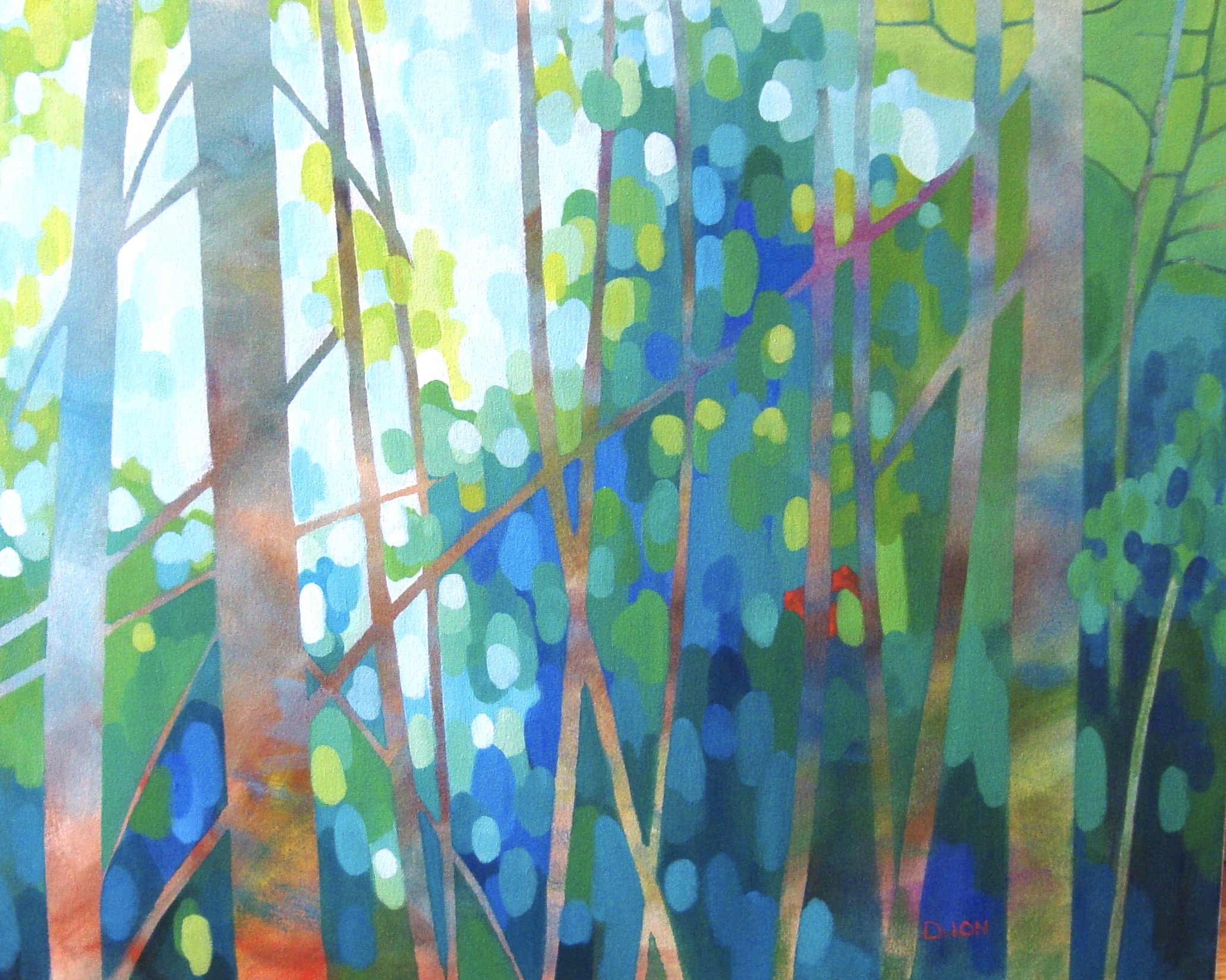 Into the Forest 24x30 in.