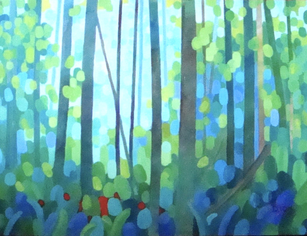 Forest Summer 18x24 in.