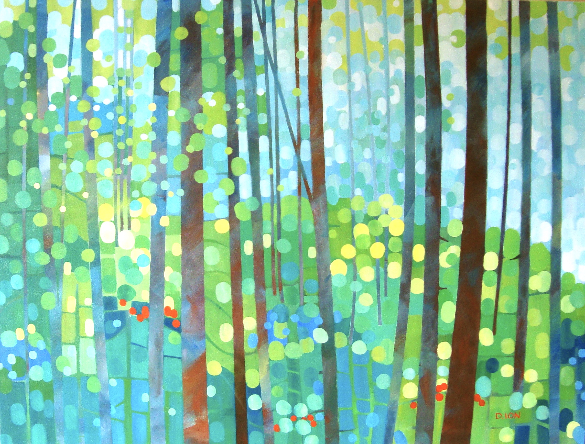 Forest Notes 30x40 in.