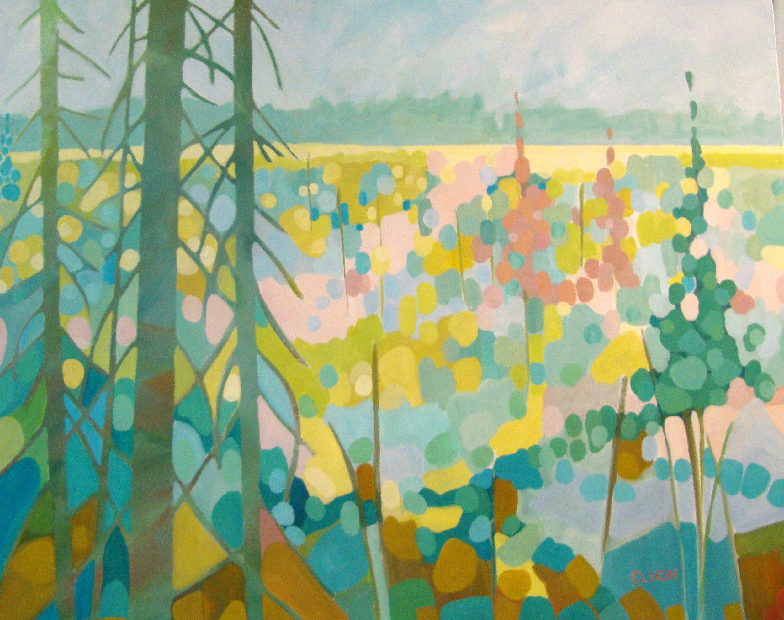 Springtime Tapestry 24x30 in.