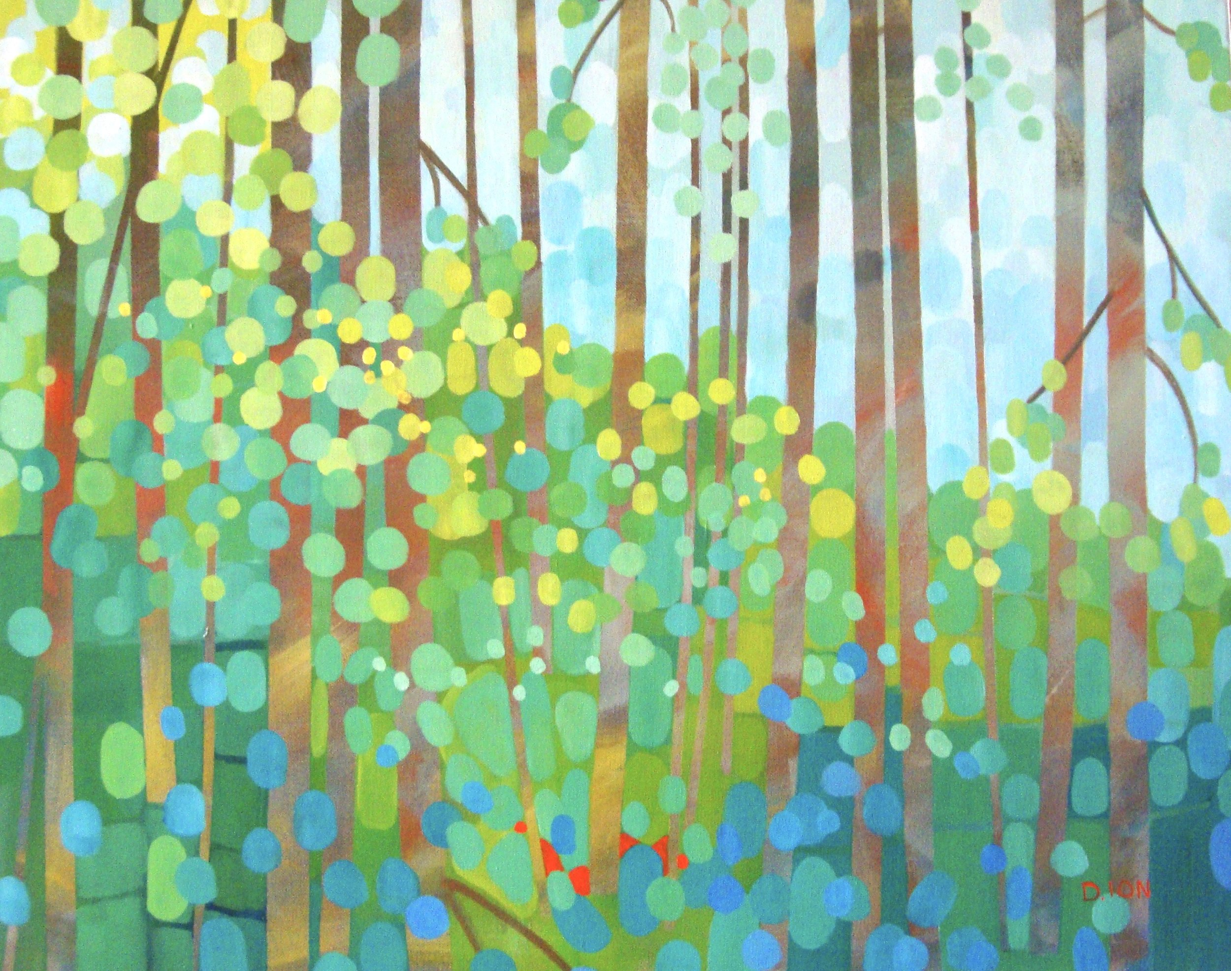 New Growth 24x30 in.